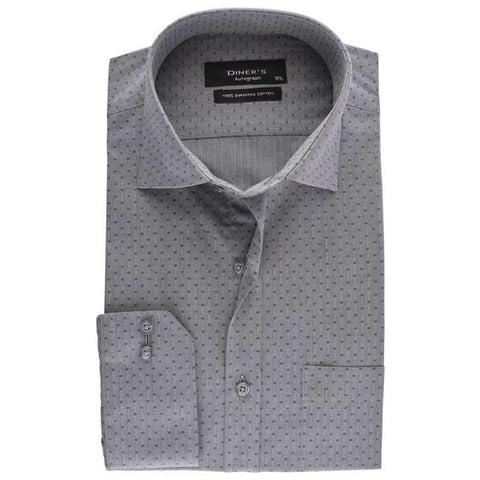 Formal Shirt in Grey SKU: AH15791-Grey