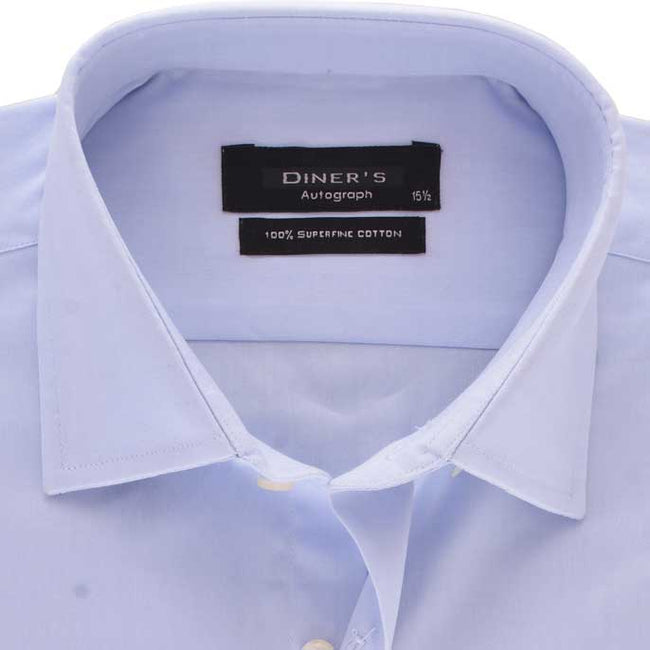 Formal Shirt in Sky Blue SKU: AH15892-SKY-BLUE