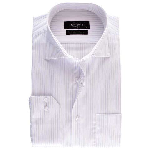 Formal Shirt in White SKU: AH16961-WHITE