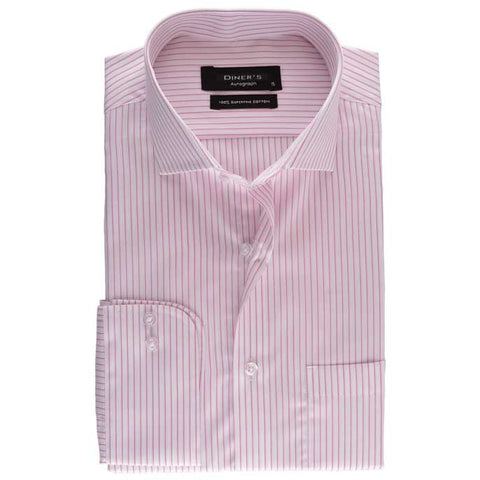 Formal Shirt in SKU: AH17485-Pink
