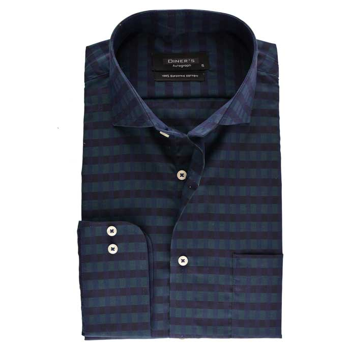 Formal Shirt in SKU: AH17575-D-Blue