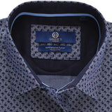 Casual Autograph Shirt in D-Grey SKU: AH18398-D-GREY