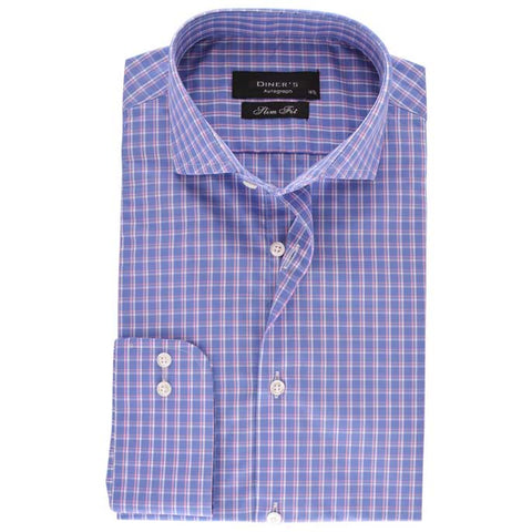 Casual Autograph Shirt in Purple SKU: AH18470-Purple