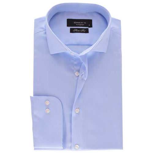 Casual Autograph Shirt in Blue SKU: AH18488-BLUE