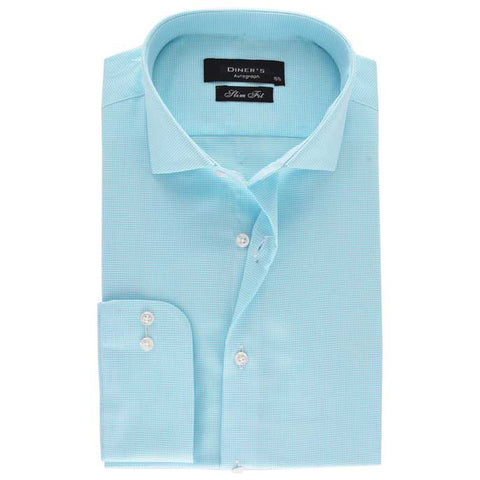Casual Autograph Shirt in Green SKU: AH18493-GREEN