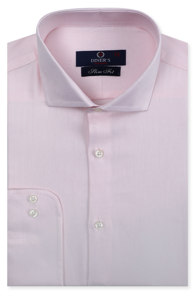 Formal Autograph Shirt in L-Pink SKU: AH20172-L-PINK