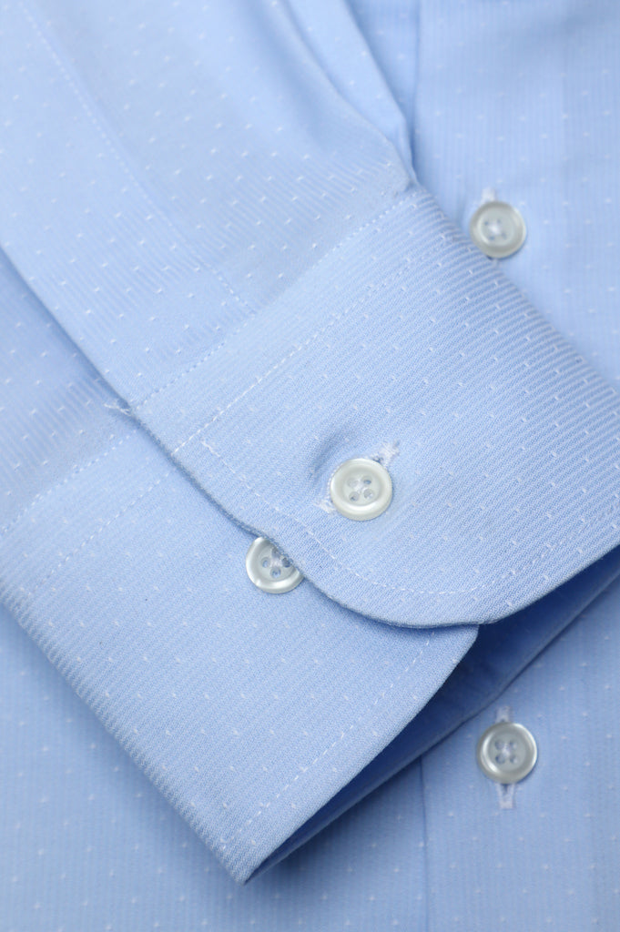 Formal Autograph Shirt in Sky Blue color SKU: AH20179-SKY BLUE