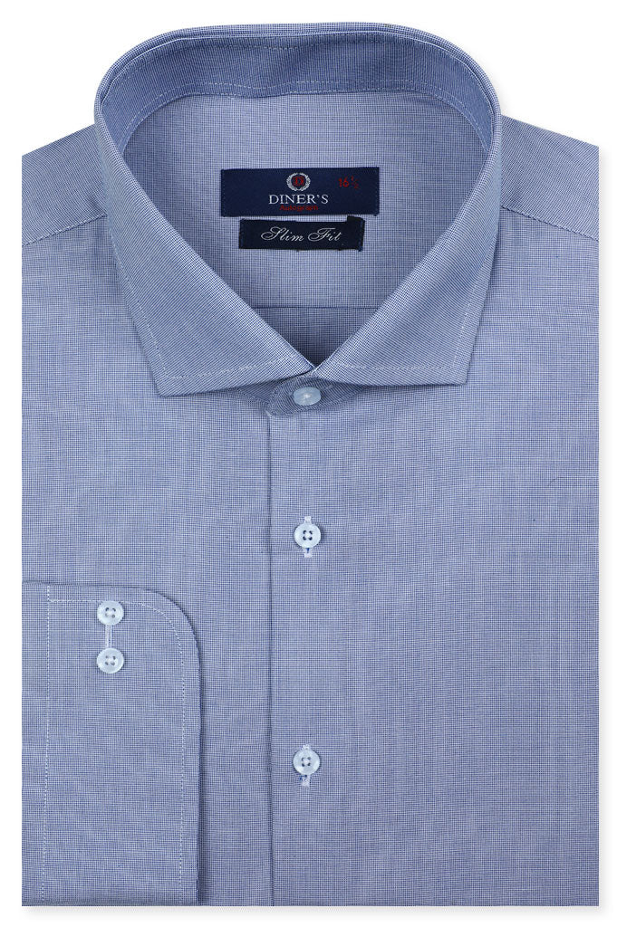 Formal Autograph Shirt in Blue SKU: AH20180 - Diners