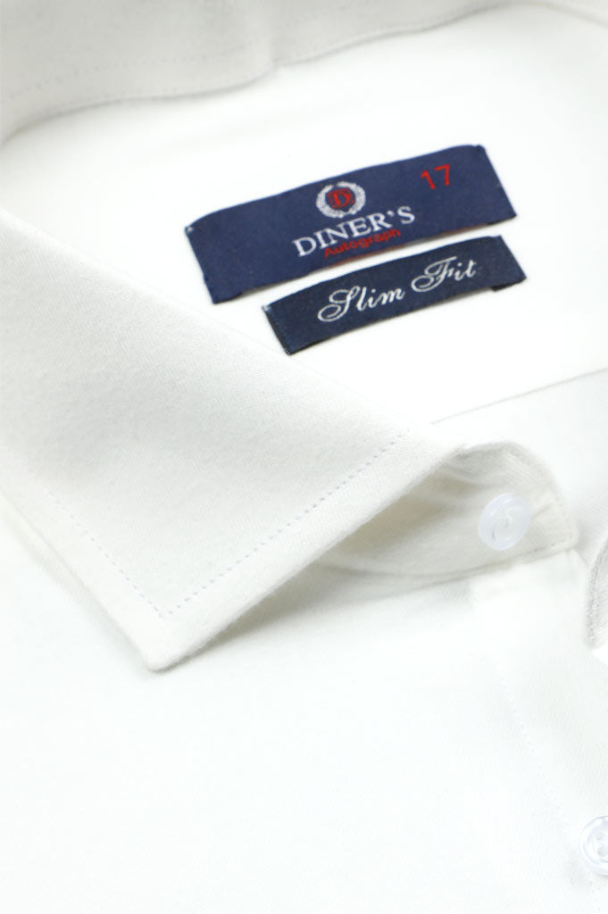 Formal Autograph Shirt in White SKU: AH20192