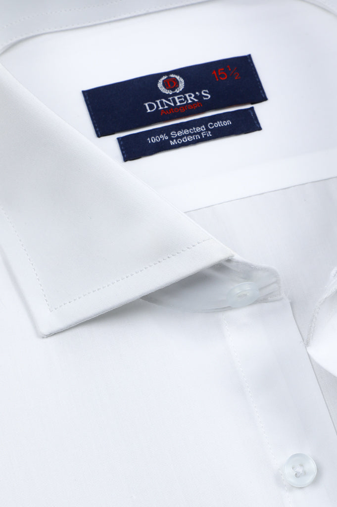 Formal Autograph Shirt in White SKU: AH20354 - Diners