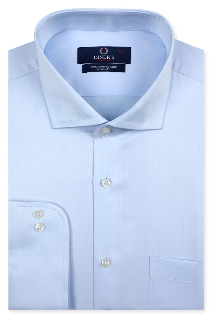 Formal Autograph Shirt in L-Blue SKU: AH20683