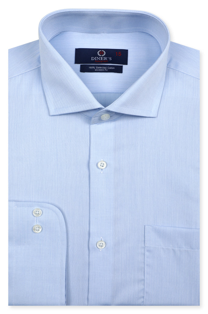 Formal Autograph Shirt in L-Blue SKU: AH20687 - Diners