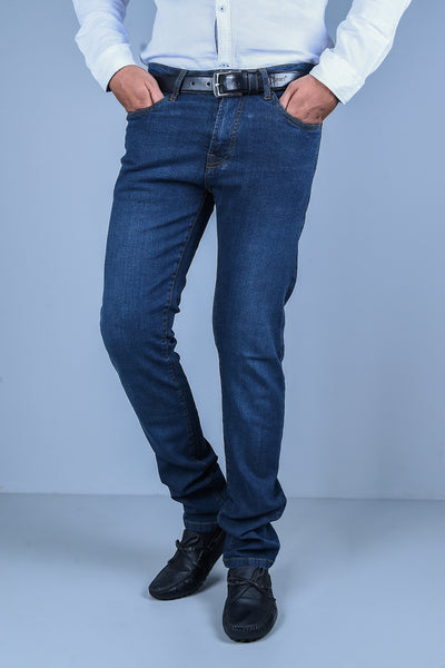 Casual Jeans in D-Blue SKU: BJ2726-D-BLUE