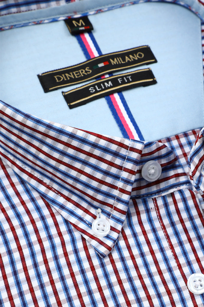 Casual Milano Shirt SKU: AM22011-MULTI - Diners