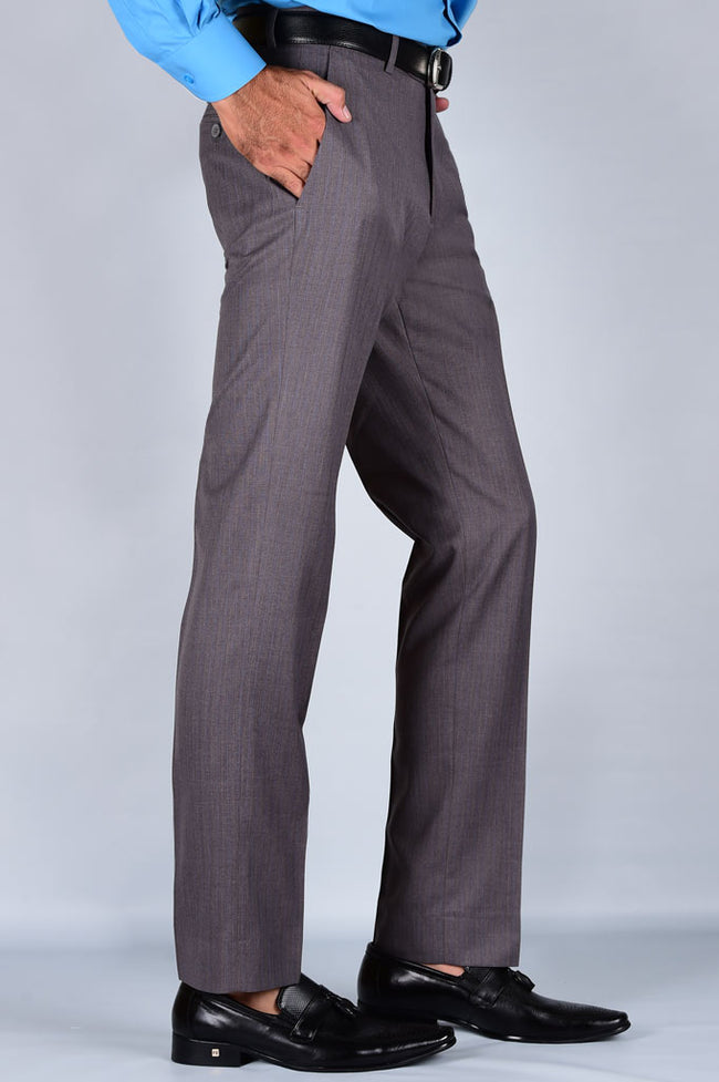 Formal Trouser for Men SKU: BA2713-L-Grey