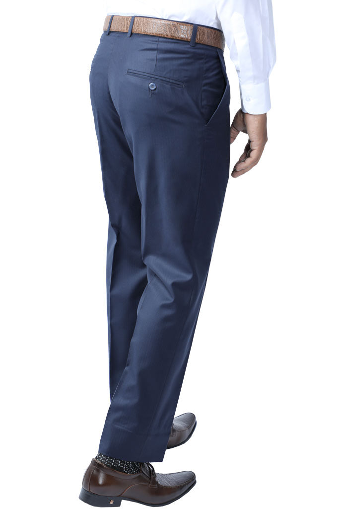 Formal Trouser for Men SKU: BA2792-N-Blue - Diners