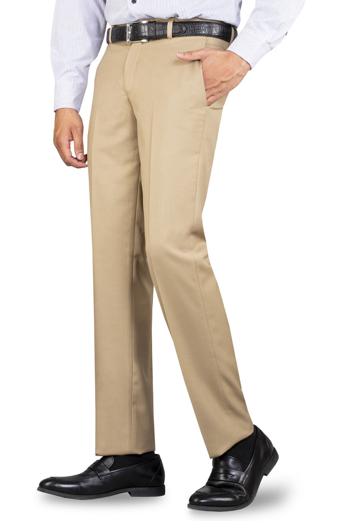 Formal Trouser for Men SKU: BA1458-Fawn - Diners