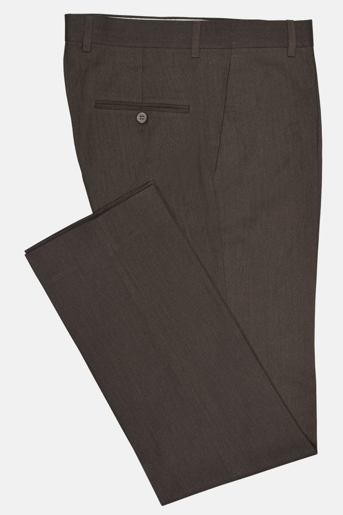 Formal Trouser in Brown SKU: BA2020-BROWN