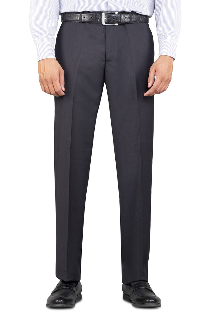 Formal Trouser for Men In C-Grey SKU: BA2334-C-GREY - Diners