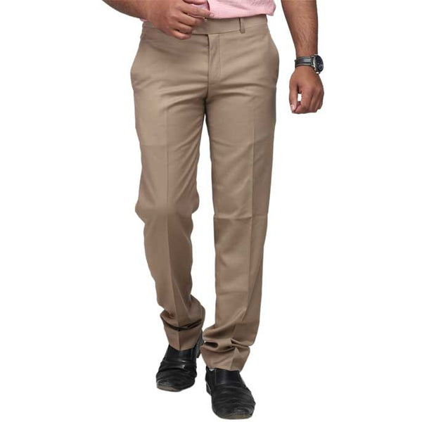 Formal Trouser for Men In D-Fawn SKU: BA2334-D-Fawn
