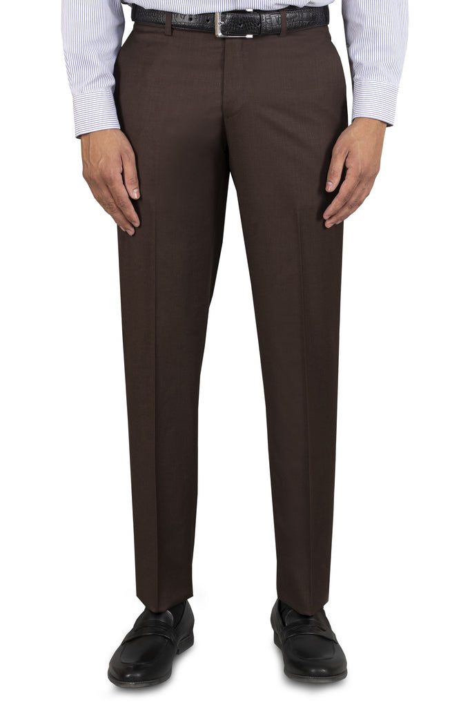 Formal Trouser for Men SKU: BA2334-Dark-Brown - Diners