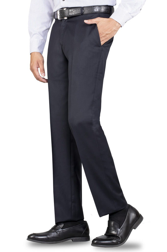 Formal Trouser for Men In Navy Blue SKU: BA2334-Navy-Blue