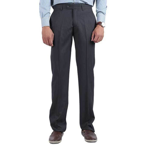 Formal Trouser for Men In C-Grey SKU: BA2599-C-GREY