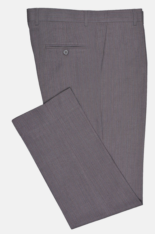 Formal Trouser for Men In L-Grey SKU: BA2712-L-Grey