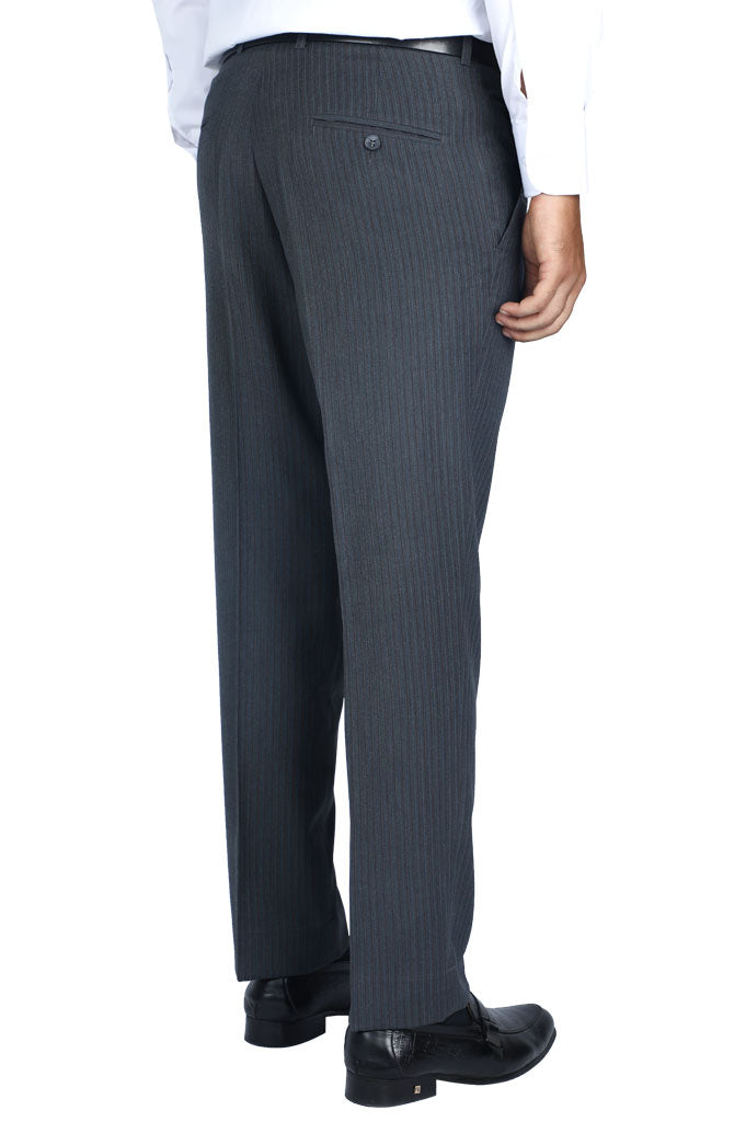 Formal Trouser for Men In Grey SKU: BA2771-Grey