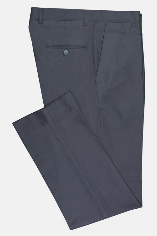 Formal Trouser for Men SKU: BA2813-L-Grey