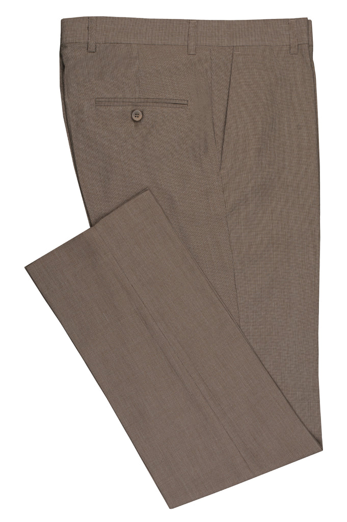 Formal Trouser for Men SKU: BA2832-Fawn - Diners