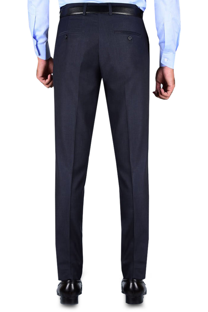 Formal Trouser for Men SKU: BA2832-NAVY-BLUE