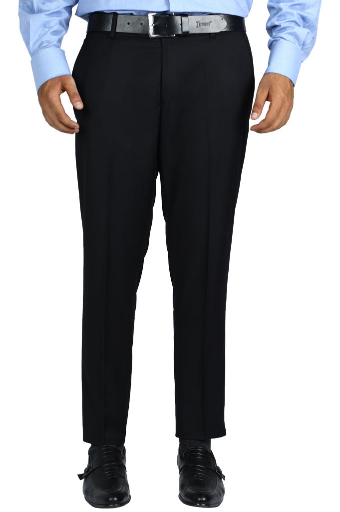 Formal Trouser for Men SKU: BA2880-Black - Diners