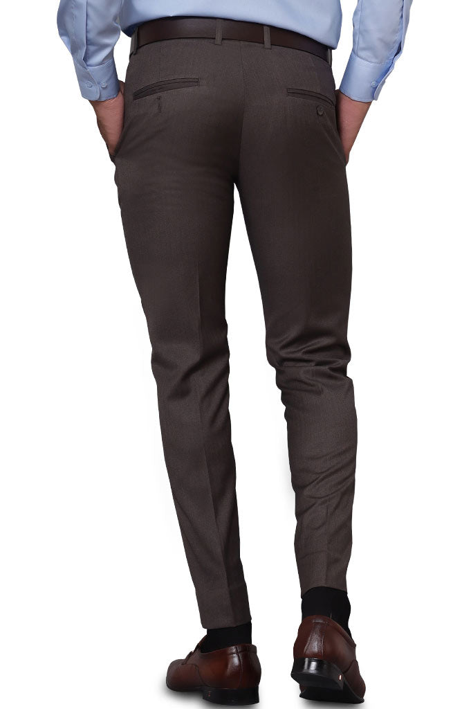 Formal Trouser for Men SKU: BA2880-Brown - Diners