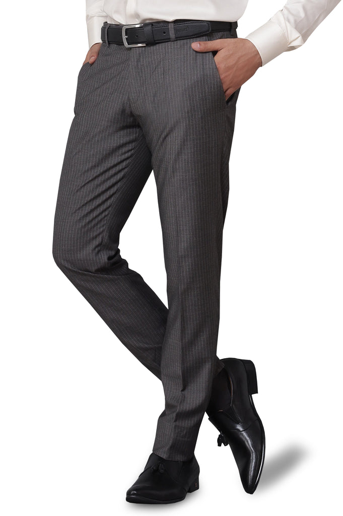 Formal Trouser for Men SKU: BA2881-L-Grey - Diners