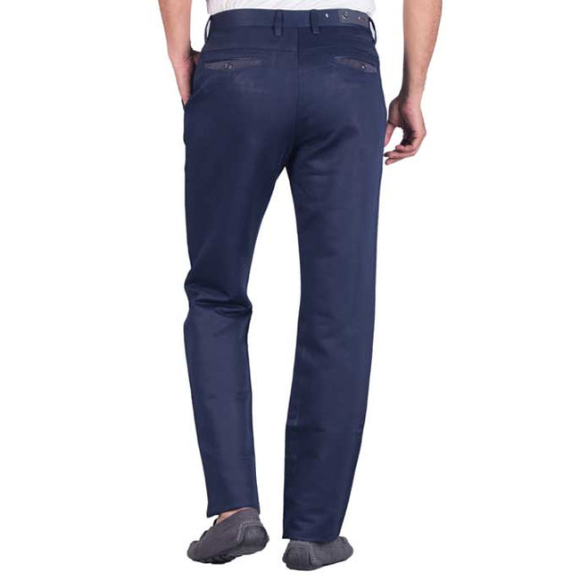 Imported Formal Cotton Trouser in R-Blue SKU: BB2671-R-Blue