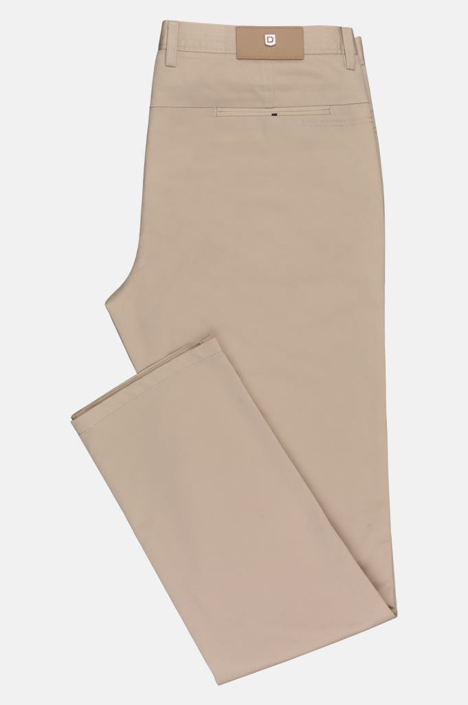 Imported Cotton Trouser In Sand SKU: BD2630-Sand