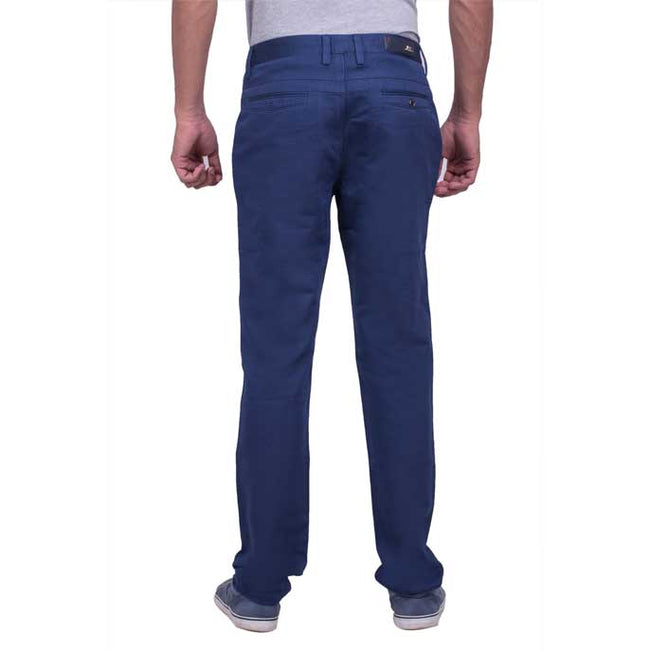 Imported Formal Cotton Trouser in R-Blue SKU: BD2666-R-Blue