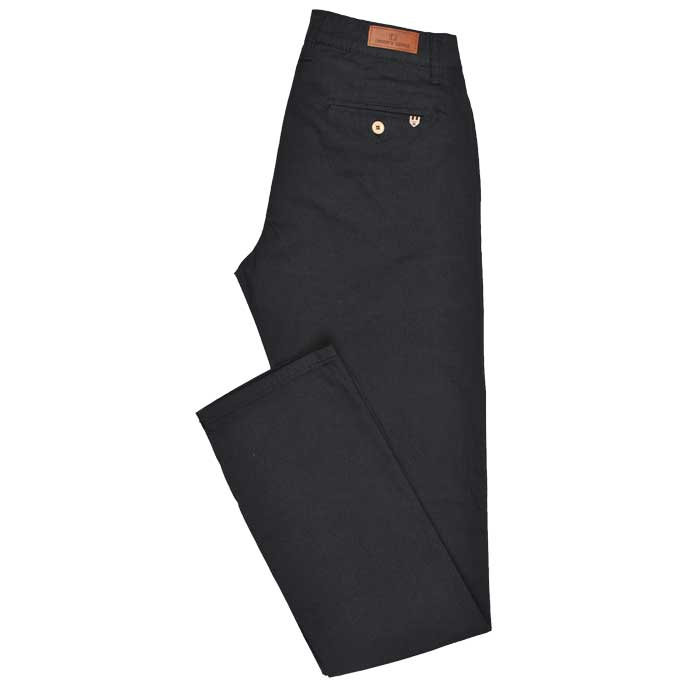 Casual Trouser in Black SKU: BD2717-BLACK