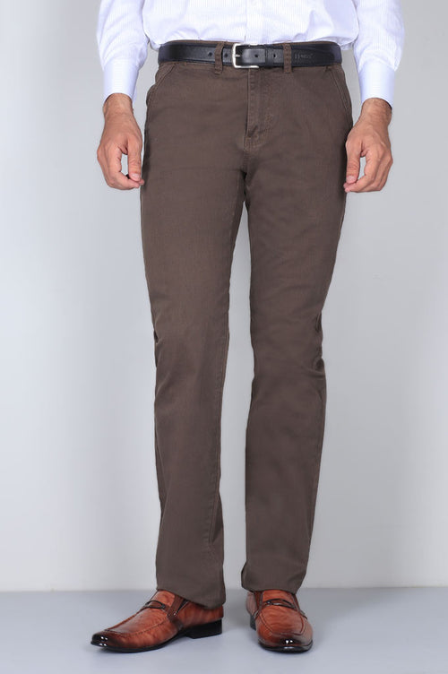 Casual Trouser SKU: BD2717-Dark-Brown