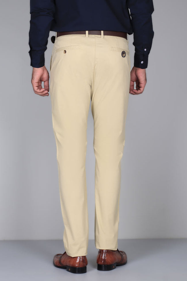 Casual Trouser SKU: BD2819-Cream