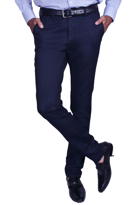 Casual Trouser in R-Blue SKU: BD2717-R-BLUE