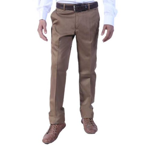 Formal Trouser for Men SKU: BH2613-D-Khaki