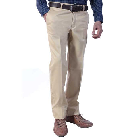Formal Trouser for Men In Fawn SKU: BH2613-Fawn