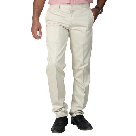 Formal Trouser for Men In L-Fawn SKU: BH2614-L-FAWN