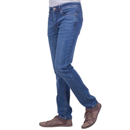 Casual Jeans in Blue SKU: BJ2722-BLUE