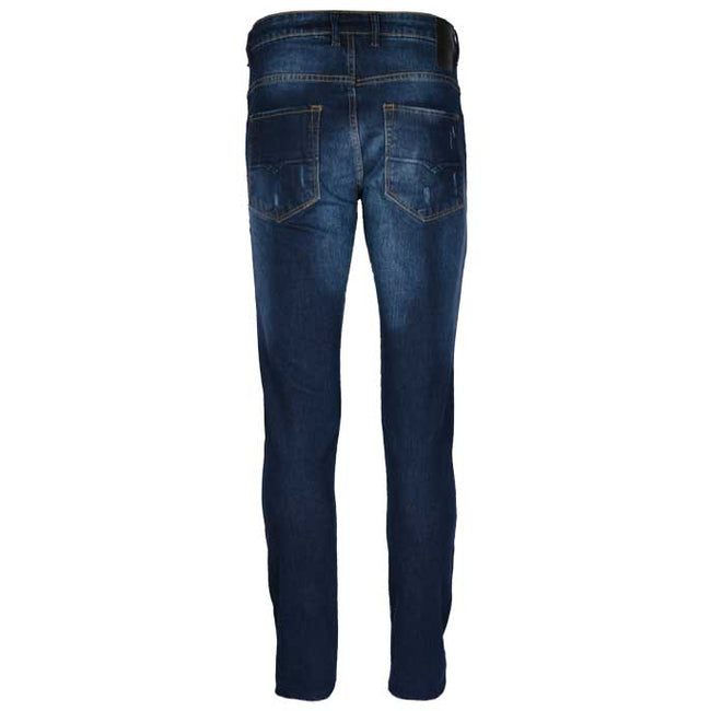 Casual Jeans in M-Blue SKU: BJ2685-M-Blue