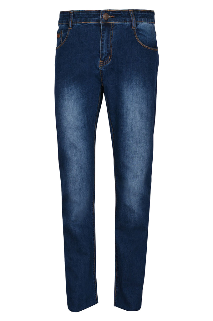 Casual Jeans in D-Blue SKU: BJ2715-D-BLUE - Diners