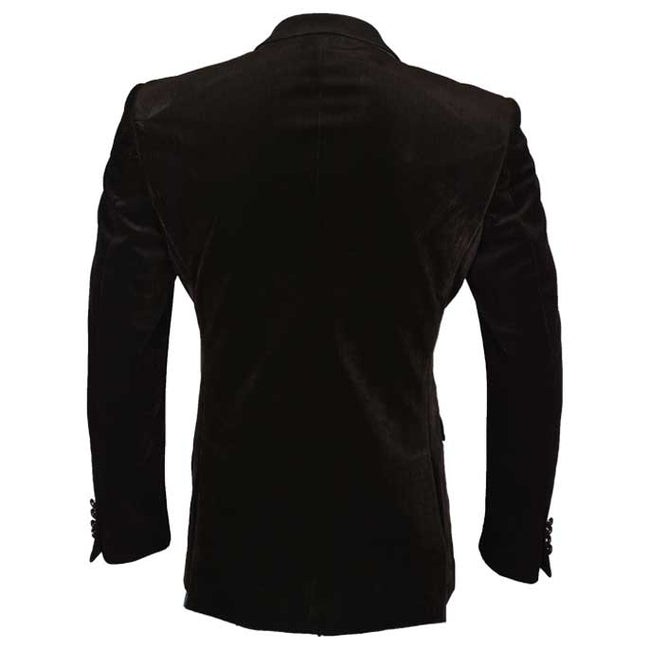 Regular Mens Blazer In SKU: CA3854-D-BROWN
