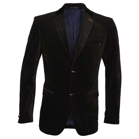 Regular Mens Blazer In SKU: CA3861-D-BROWN